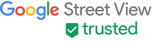 google streetview trusted logo