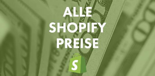 alle shopify preise shopify kosten