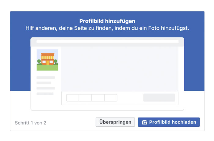facebook firmenseite erstellen Profilbild