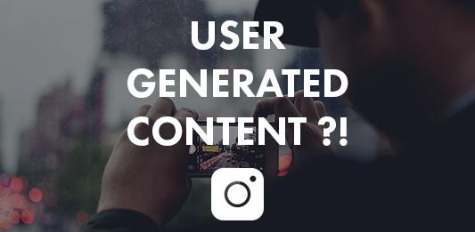 User Generated Content für Instagram