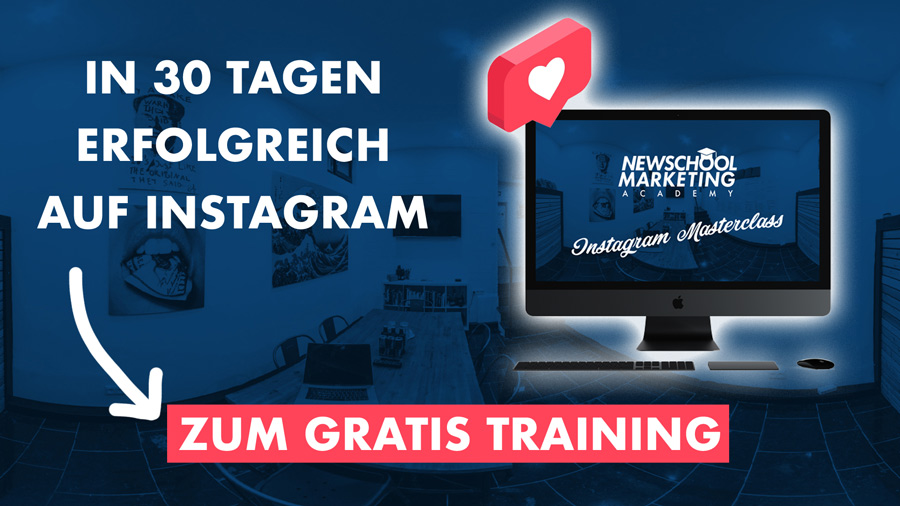 Instagram Masterclass Sascha Bitz Newschool Marketing